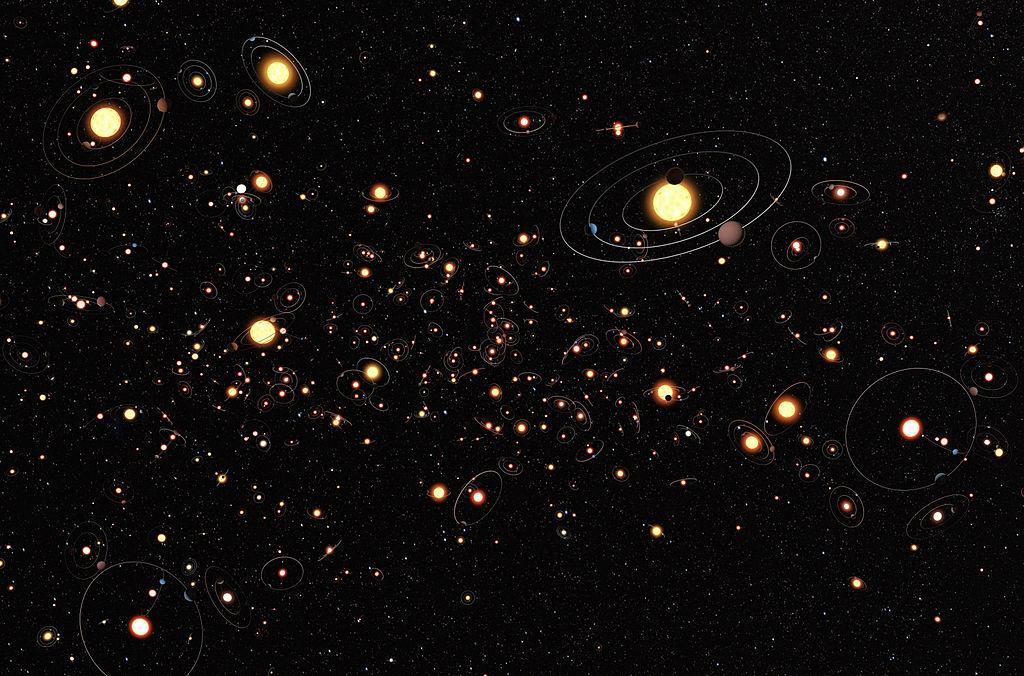 Como detectar um exoplaneta