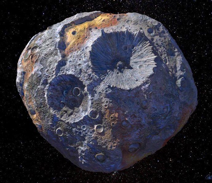 Psique: um planeta a coração aberto?